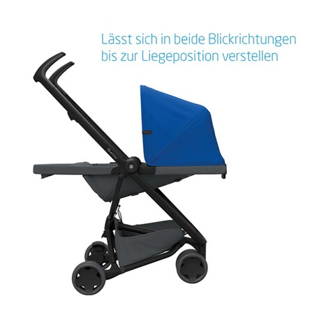 Quinny ZAPP FLEX Buggy mit Liegefunktion  Blue on Graphite 7