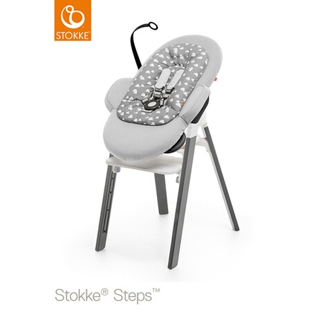 STOKKE® STEPS™ Babywippe Bouncer  Grey clouds 4