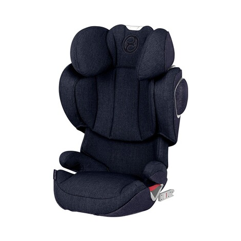 Cybex PLATINUM Solution Z-Fix Plus Kindersitz  midnight blue 1