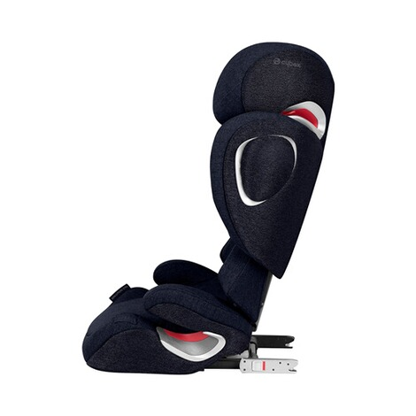 Cybex PLATINUM Solution Z-Fix Plus Kindersitz  midnight blue 2