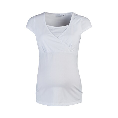 2hearts WE LOVE BASICS Umstands- und Still-T-Shirt  weiß 1