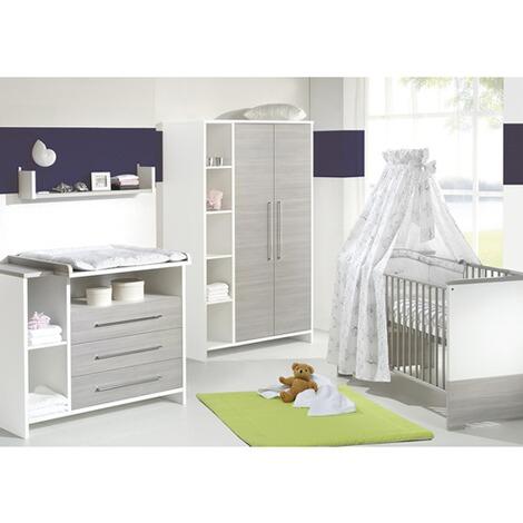 Schardt 3 Tlg Babyzimmer Eco Silber Online Kaufen Baby Walz