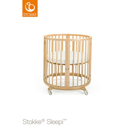 Stokke® SLEEPI™ Babybett mit Matratze Sleepi Mini (0 - 6 Monate)  Natural 1