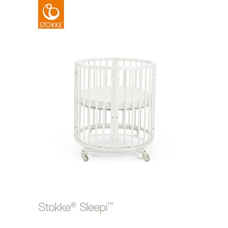 Stokke® SLEEPI™ Babybett mit Matratze Sleepi Mini (0 - 6 Monate)  White 1