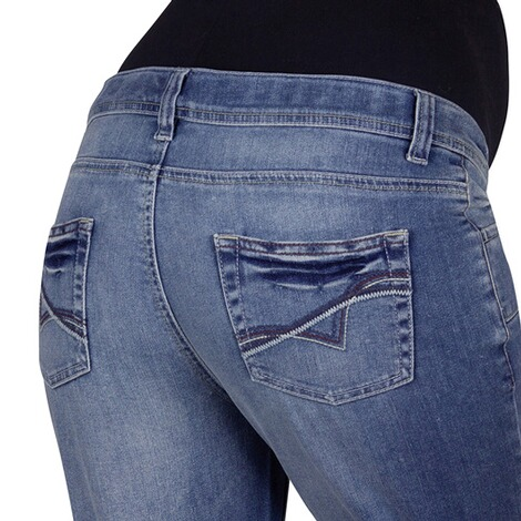 2HEARTS  Umstands-Capri-Jeans  stone washed 2