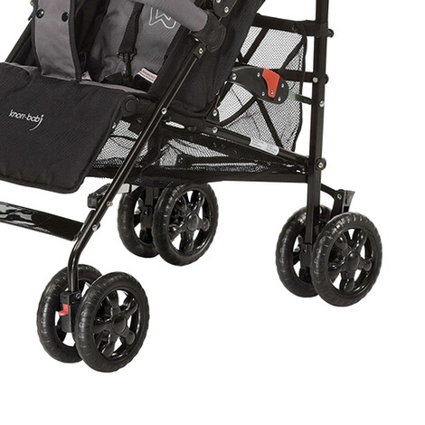 KNORR-BABY  Commo Buggy mit Liegefunktion  black/grey 3
