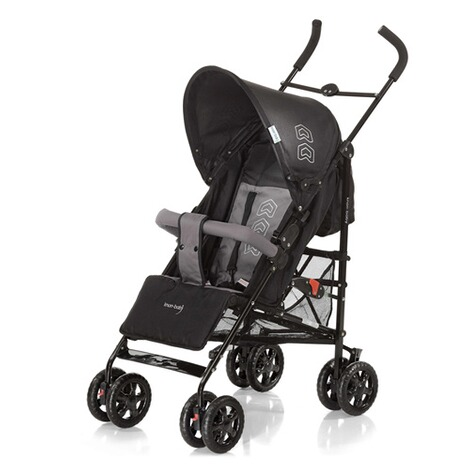 KNORR-BABY  Commo Buggy mit Liegefunktion  black/grey 1