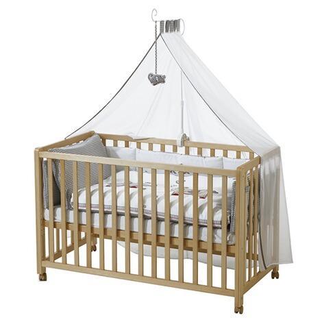 roba beistellbett mit ausstattung jumbotwins 60x120 cm online kaufen baby walz. Black Bedroom Furniture Sets. Home Design Ideas