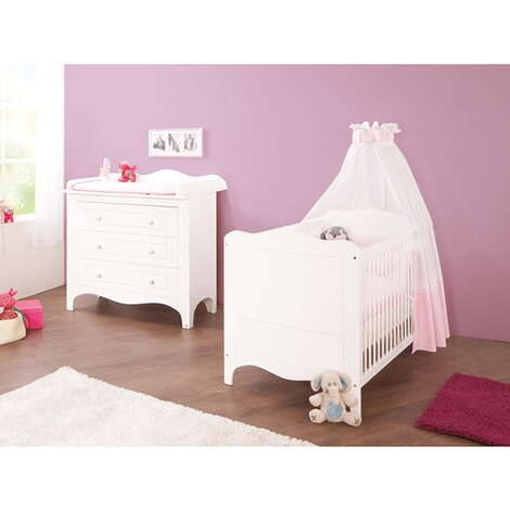 pinolino 2 tlg babyzimmer fleur online kaufen baby walz. Black Bedroom Furniture Sets. Home Design Ideas