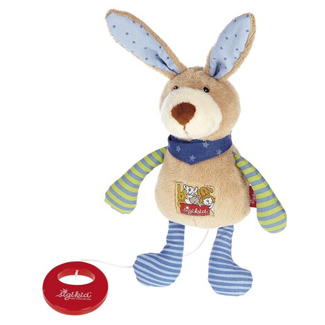 Sigikid  Spieluhr Hase Red Stars Collection 22 cm 1