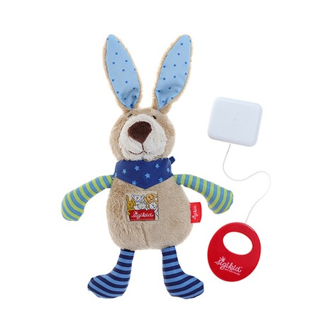 SIGIKID  Spieluhr Hase Red Stars Collection 22 cm 2