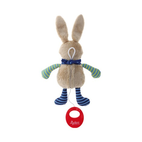 SIGIKID  Spieluhr Hase Red Stars Collection 22 cm 3