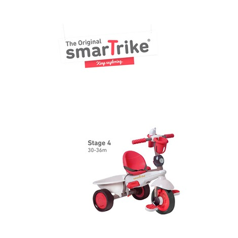 smarTrike  Dreirad Dream Touch Steering® 4-in-1  rot 5
