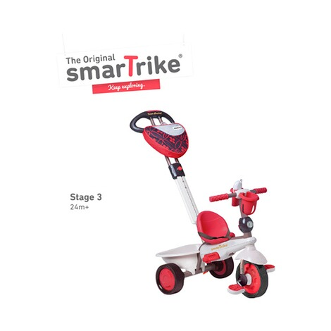 smarTrike  Dreirad Dream Touch Steering® 4-in-1  rot 6
