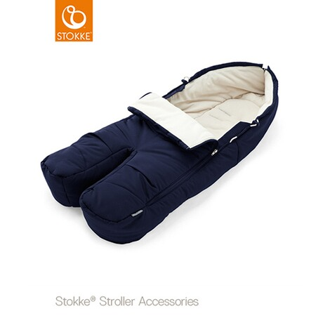 Stokke®  Winter-Fußsack für Kinderwagen Xplory, Trailz  deep blue 1