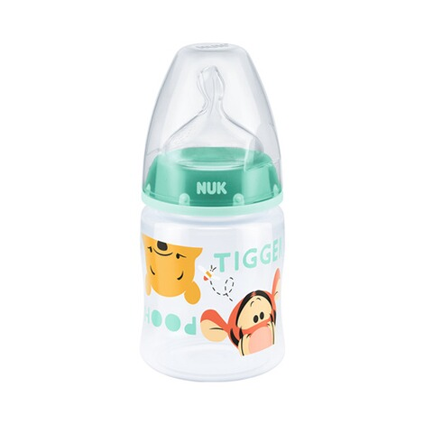 NUK DISNEY WINNIE PUUH 5-tlg. Flaschenset Fist Choice Plus 150-300 ml, Kunststoff, 0-6M  weiß 4