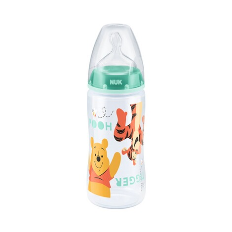 NUK DISNEY WINNIE PUUH 5-tlg. Flaschenset Fist Choice Plus 150-300 ml, Kunststoff, 0-6M  weiß 2