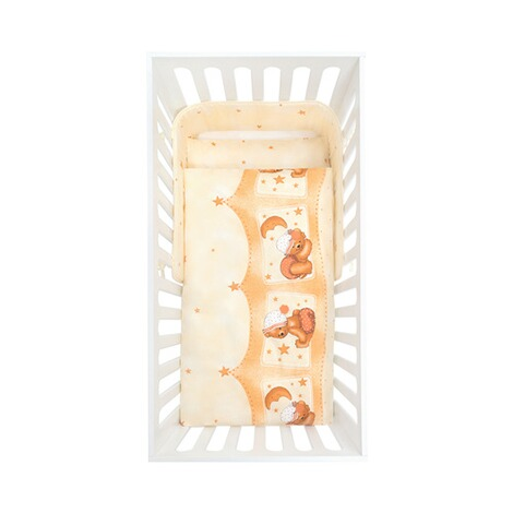 julius z llner babybett mit ausstattung kuschelb r 70x140 cm online kaufen baby walz. Black Bedroom Furniture Sets. Home Design Ideas