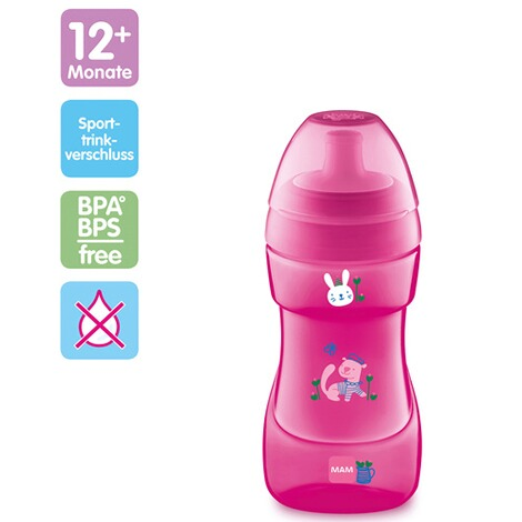 MAMTrinklernflasche Sports Cup 330ml  pink 2