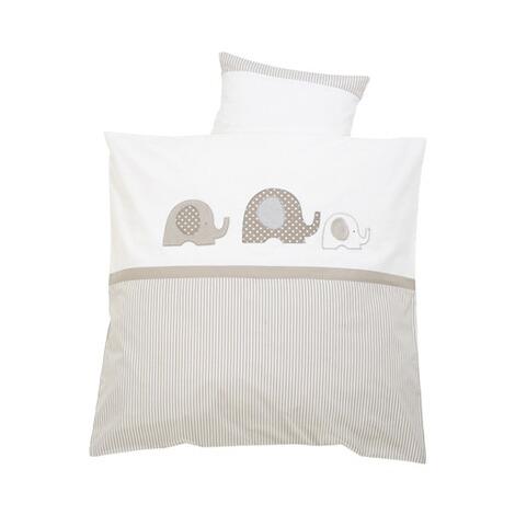 alvi bettw sche elefant 35x40 80x80 cm online kaufen baby walz. Black Bedroom Furniture Sets. Home Design Ideas