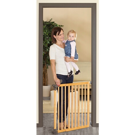 reer t r und treppenschutzgitter basic 75 104 5 cm online kaufen baby walz. Black Bedroom Furniture Sets. Home Design Ideas