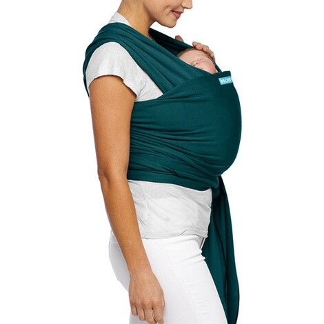 MOBY  Classic Wrap Babytragetuch, 550cm  pacific 5