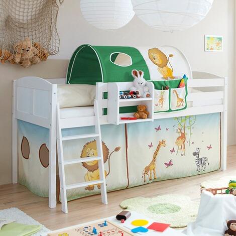 ticaa hochbett eric country safari online kaufen baby walz. Black Bedroom Furniture Sets. Home Design Ideas