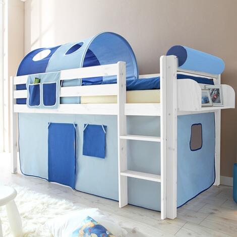 ticaa hochbett malte 90x200 cm online kaufen baby walz. Black Bedroom Furniture Sets. Home Design Ideas
