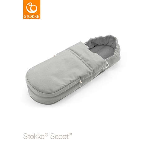 Stokke® SCOOT Softbag  grey melange 1