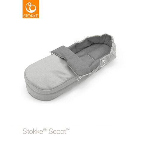Stokke® SCOOT Softbag  grey melange 3