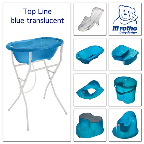 ROTHO BABYDESIGN  Toilettensitz TOP Translucent  blue 2