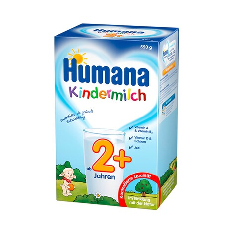 HUMANA  Kindermilch 2+ 550g 1