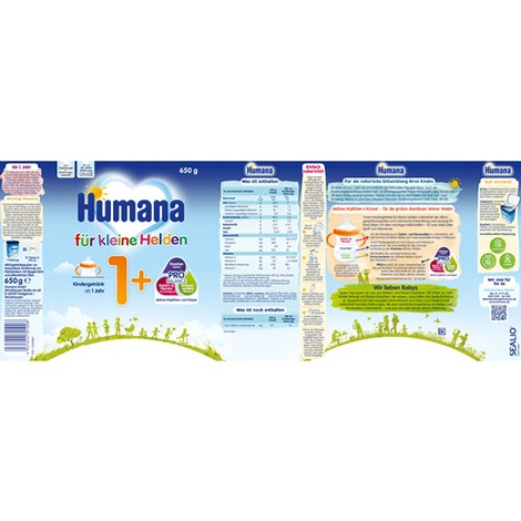 Humana  Kindermilch 1+ 650g 2