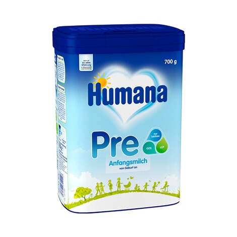 HUMANA  Anfangsmilch PRE 700g 1
