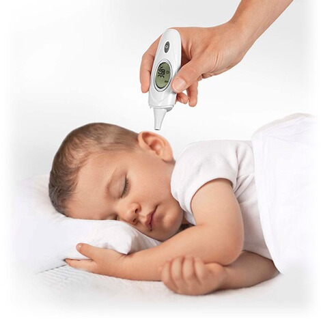 reer  3-in-1 Fieberthermometer Skin Temp 2