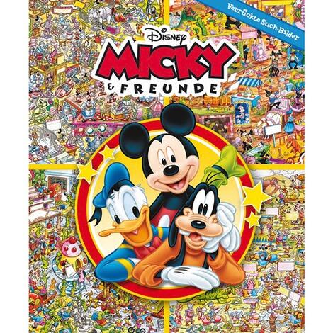 DISNEY MICKEY MOUSE & FRIENDS Wimmelbuch-Disney Micky Maus & Freunde