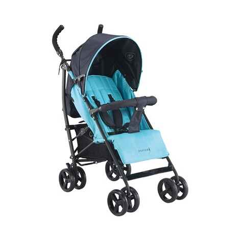 KNORR-BABY  Styler Happy Colour Buggy mit Liegefunktion  blau 1