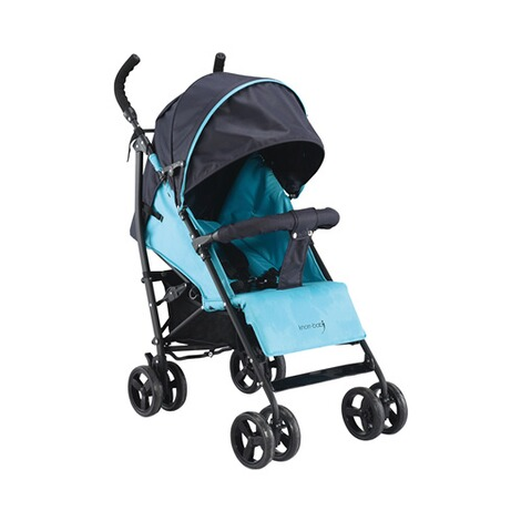 KNORR-BABY  Styler Happy Colour Buggy mit Liegefunktion  blau 2