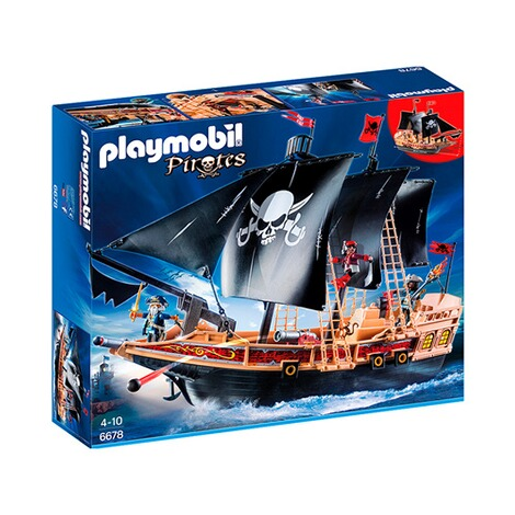 PLAYMOBIL® PIRATES 6678 Piraten-Kampfschiff 1