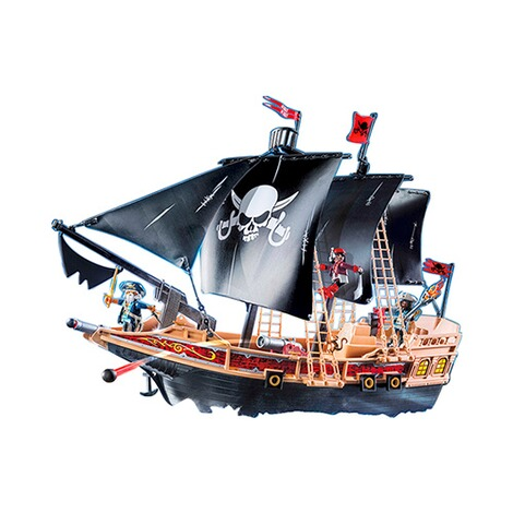PLAYMOBIL® PIRATES 6678 Piraten-Kampfschiff 2