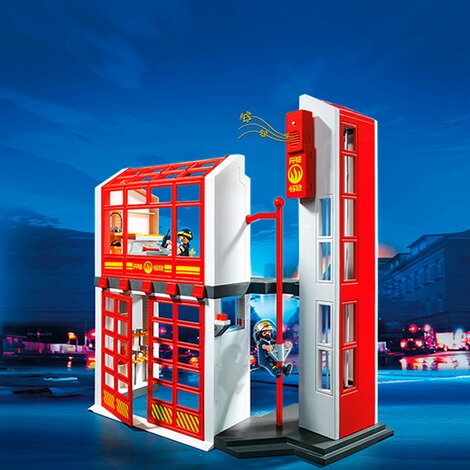 PLAYMOBIL® CITY ACTION 5361 Feuerwehrstation mit Alarm 2