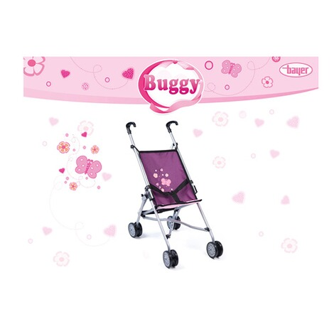 Bayer Design  Puppenbuggy  lila 2