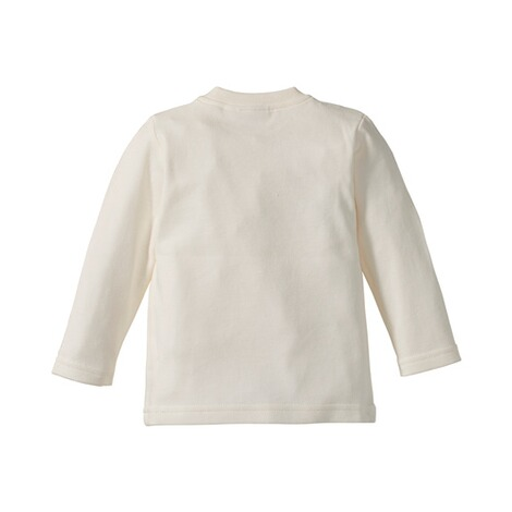 BORNINO BASICS Shirt langarm Love  wollweiß Mummy 2