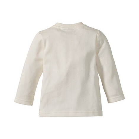 BORNINO BASICS Shirt langarm Love  wollweiß Daddy 2