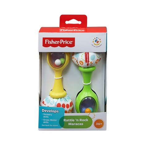 FISHER PRICE  2er-Pack Rumba-Rasseln 1