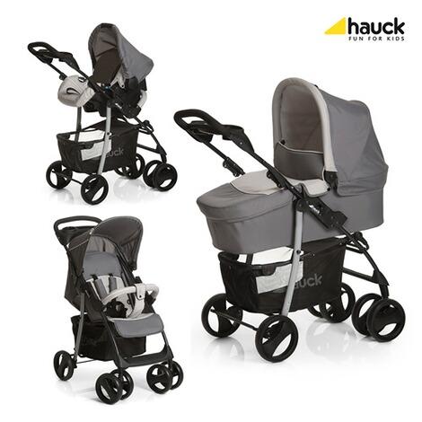 hauck shopper slx kombikinderwagen trio set online kaufen baby walz. Black Bedroom Furniture Sets. Home Design Ideas