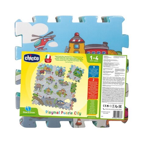 Chicco9tlg. Puzzlematte City 2