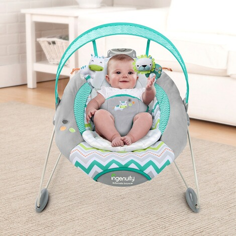 IngenuityBabywippe SmartBounce Automatic Bouncer™ 5
