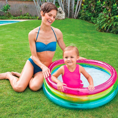 intex baby pool rainbow online kaufen baby walz. Black Bedroom Furniture Sets. Home Design Ideas