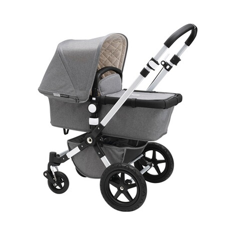 BUGABOO CAMELEON³ Classic+ Collection Kombikinderwagen  grey melange 2